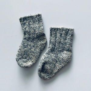 Hanna Andersson Camp Socks Extra-soft knit Sz 7/8